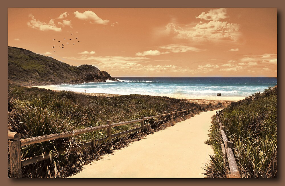 Down to the Beach by john NORRIS