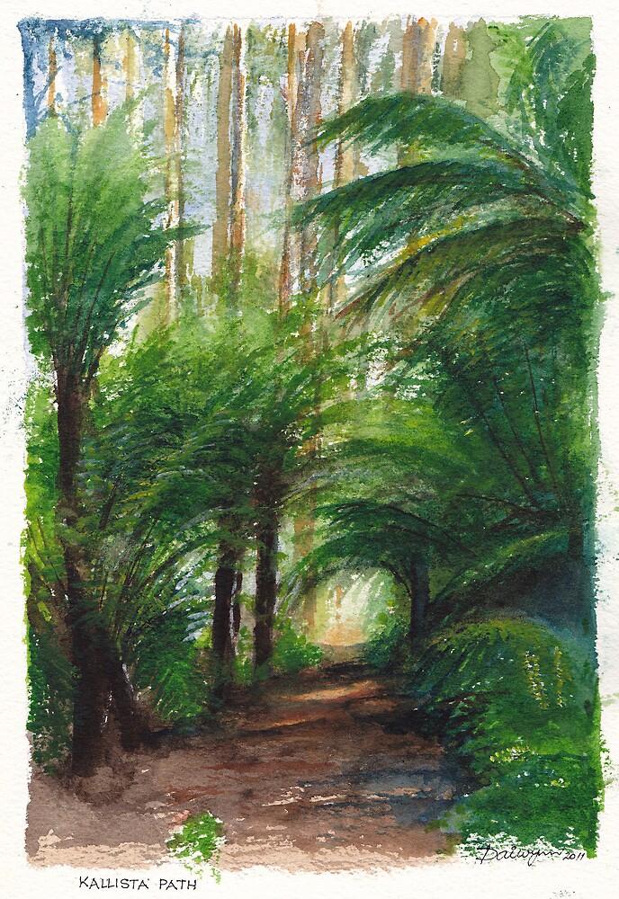 Kallista Rainforest Path by Dai Wynn