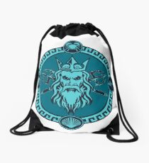 Poseidon Drawstring Bag