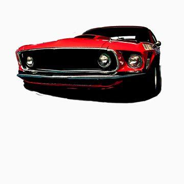 '69 Mustang by lucadou