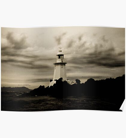 Hells Gate Lighthouse, Tasmania Poster