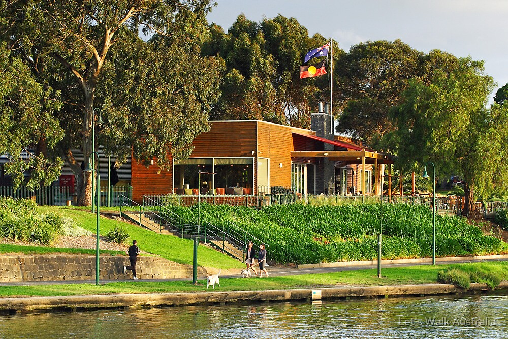 Boathouse Cafe at Moonee Ponds by Let's Walk Australia