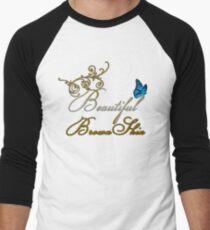 Beautiful Brown Skin Men's Baseball ¾ T-Shirt