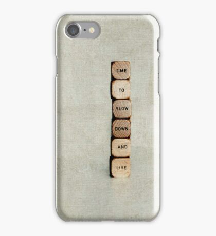 live life - iphone iPhone Case/Skin