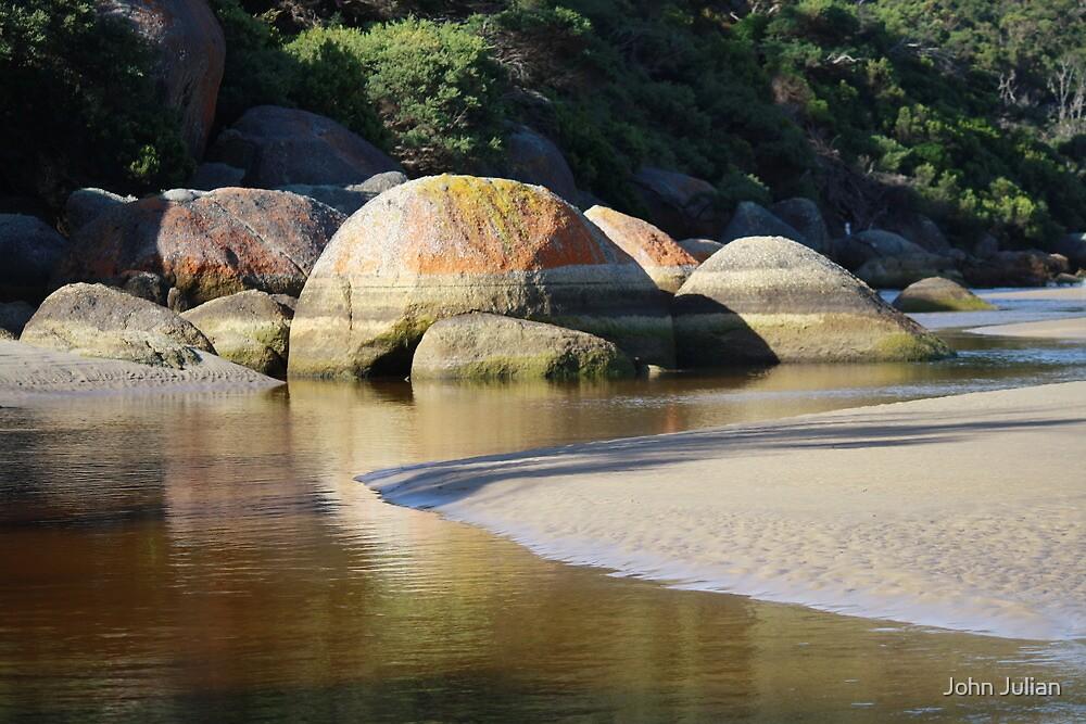 Tidal River, Wilson's Promontory. by John Julian
