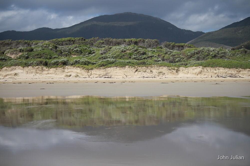 Beach Reflections by John Julian