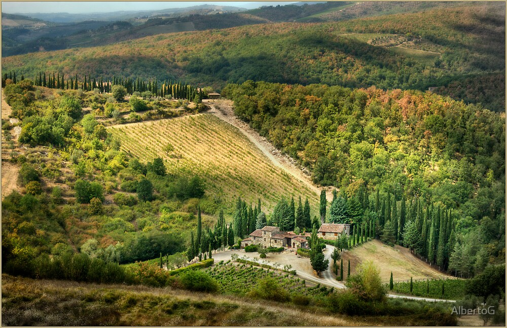 Tuscany by AlbertoG