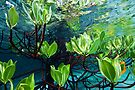 Leafy reflections by David Wachenfeld