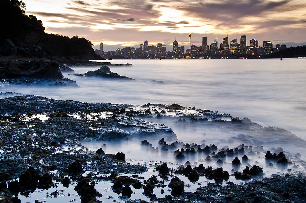 Incoming Tide - Sydney Harbour by Bruce Campbell