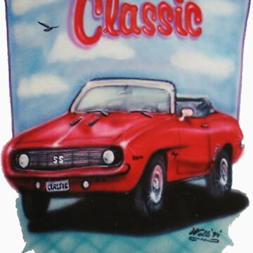 Classic Chevy Airbrushed by wpbmca