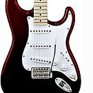 Fender Stratocaster by andytechie