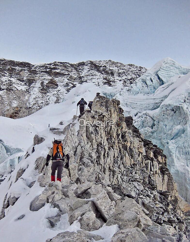 Rock climbing by Osveyre