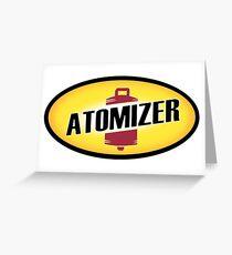 atomizer Greeting Card