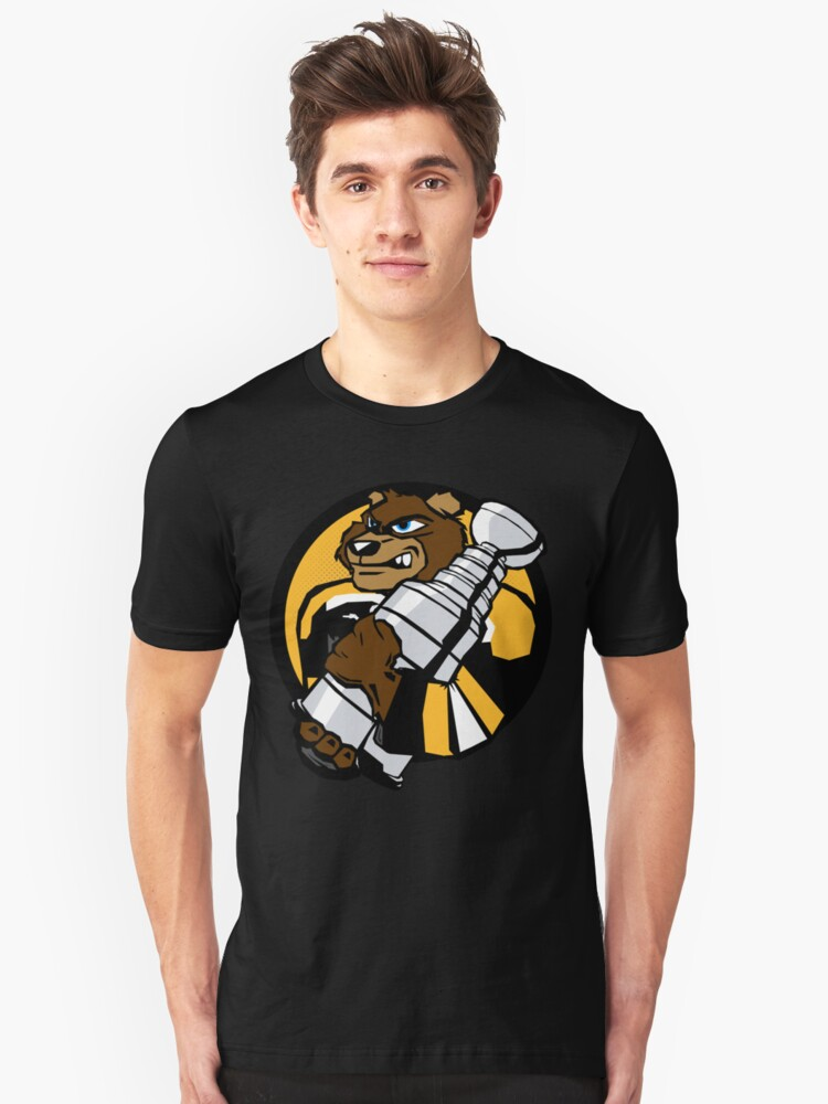 Boston Bruins - Champions! Unisex T-Shirt Front