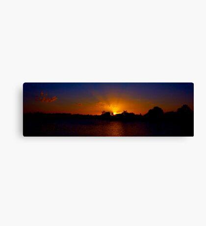 Sunset excess Canvas Print