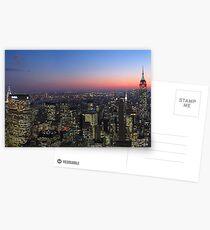 Postales New york skyline