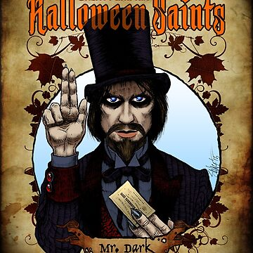 Halloween Saints: Mr. Dark by ChadSavage