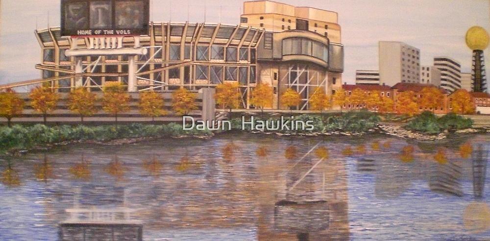 UT NEYLAND STADIUM by Dawn  Hawkins