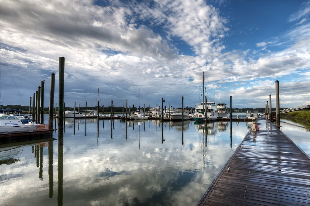 Morning at the Marina by jimcrotty