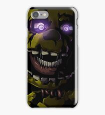 Creepy Springtrap design (FNAF) iPhone Case/Skin