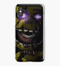 Creepy Springtrap design (FNAF) iPhone Case