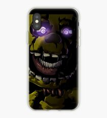 Creepy Springtrap design (FNAF) iPhone Case