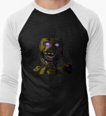 Creepy Springtrap design (FNAF) Men's Baseball ¾ T-Shirt