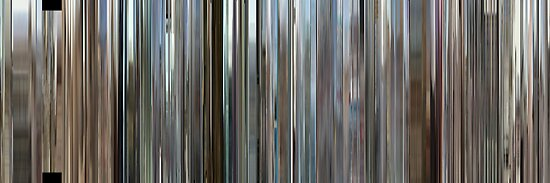 Moviebarcode: Rubber (2010) by moviebarcode