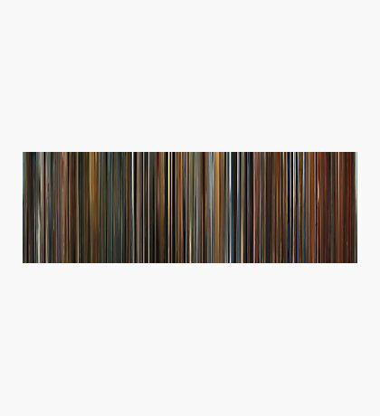 Moviebarcode: Ocean's Trilogy (2001-2007) Photographic Print
