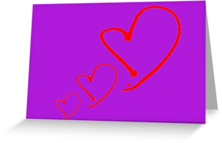 new year post card to say I love you! by mariette sardin
