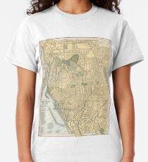 Vintage Map of Buffalo New York (1891) Classic T-Shirt