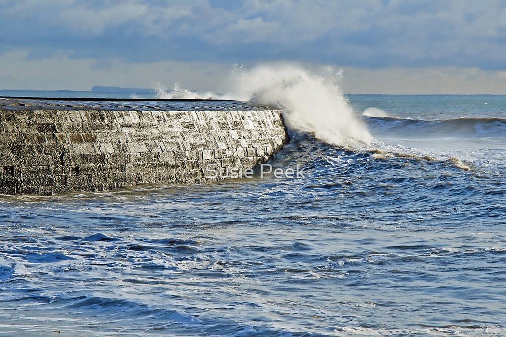 Winter Storms ~ Lyme Regis by Susie Peek