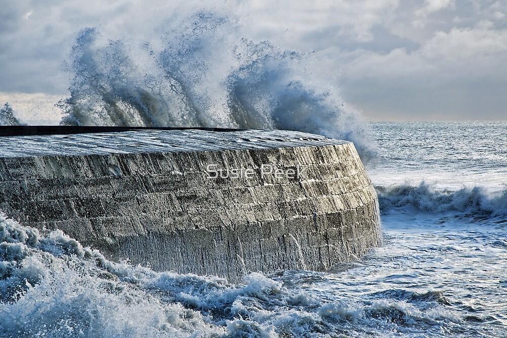 Winter Storms 2 ~ Lyme Regis by Susie Peek