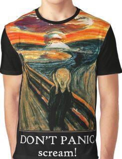Don't Panic - Scream! Graphic T-Shirt