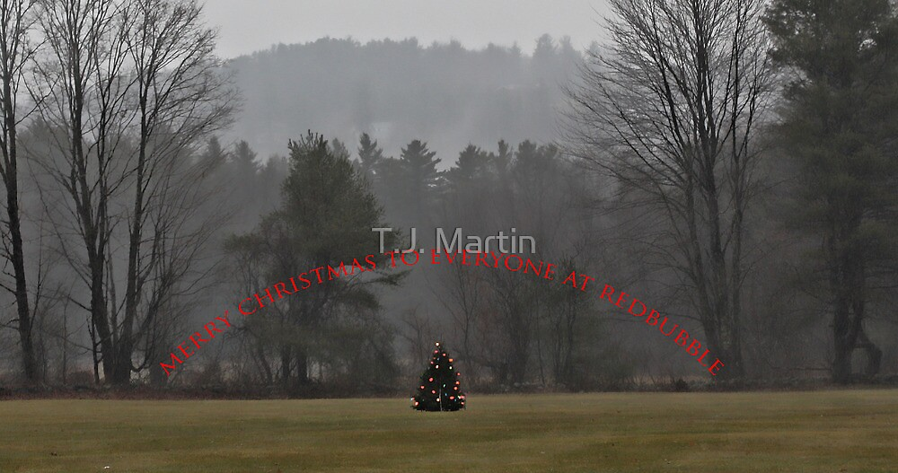 A Merry Christmas to Everyone at RedBubble by T.J. Martin