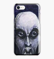 Vampire-Nosferatu iPhone Case/Skin