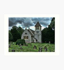 St Mary's Church, Betteshanger Art Print