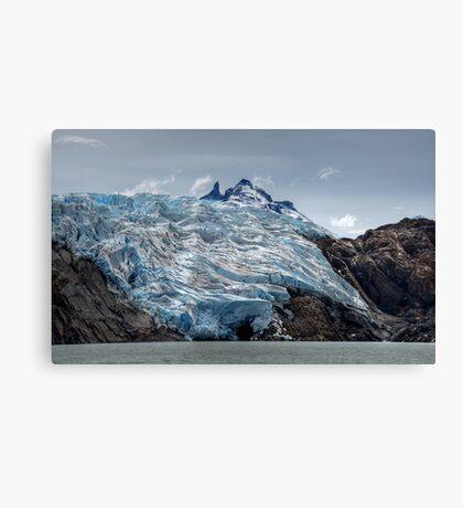 Poured Ice Canvas Print
