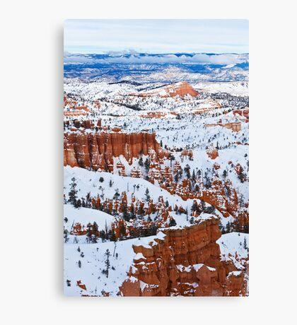 Winter Marvel Canvas Print