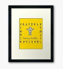I LOVE SKATEBOARD - Rodney Mullen Framed Print