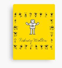 I LOVE SKATEBOARD - Rodney Mullen Canvas Print