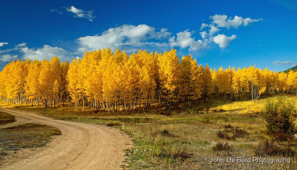 Fall Rural Roads by John  De Bord Photography