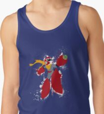 Protoman Splattery Shirt or Hoodie - Any Color Tank Top