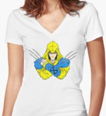 Weapon X's Creed Women's Fitted V-Neck T-Shirt
