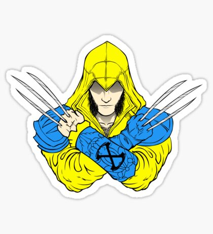 Weapon X's Creed Sticker