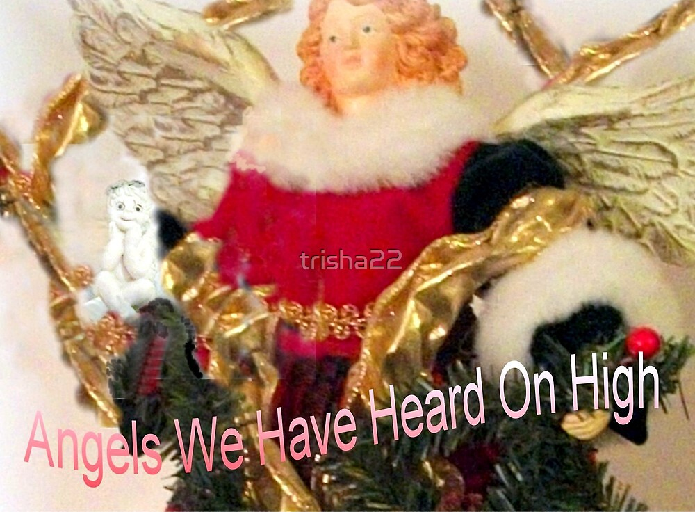 ANGELS WE HAVE HEARD ON HIGH by trisha22