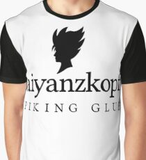 Super Saiyan Hair Gel Graphic T-Shirt