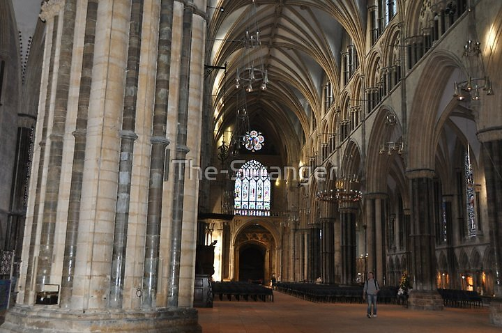 INSIDE LINCOLN CATHEDRAL (2), LINCOLN, UNITED KINGDOM by The-Stranger