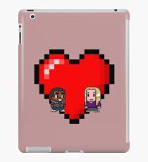 """Love in 8-bit"": Britta and Troy (Style B) iPad Case/Skin"