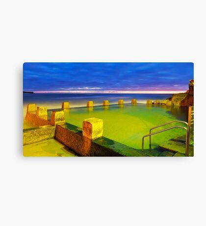 An Invitation to Swim Canvas Print